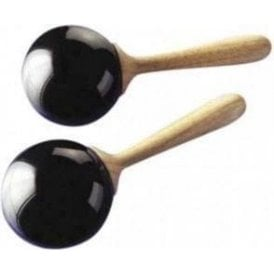 Stagg MFB3 Maracas - Large Black Fiber pr