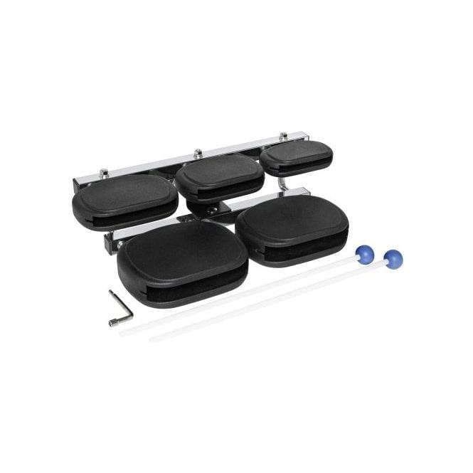 Stagg Synthetic 5 Block Set Inc Stand & Mallets | Buy at Footesmusic
