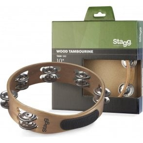 "Stagg Tambourine - 10"" Headless"