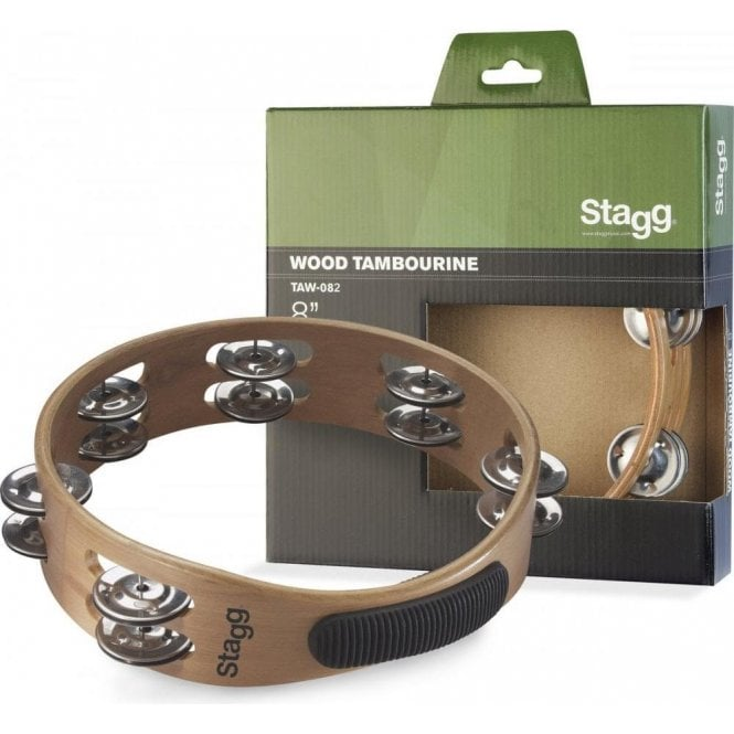 "Stagg Tambourine - 8"" Headless"
