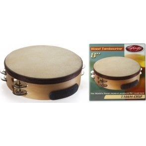 "Stagg Tambourine - 8"" With Head"