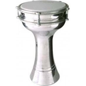 Stagg Turkish Aluminium Darbuka 17cm Tunable ALMPL17 | Buy at Footesmusic