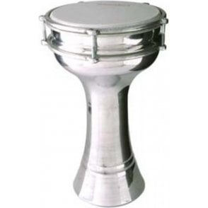 Stagg Turkish Aluminium Darbuka 20cm Tunable ALMPL20 | Buy at Footesmusic