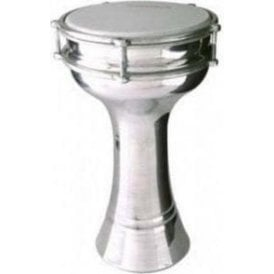 Turkish Aluminium Darbuka with 17cm Tunable Plastic Head