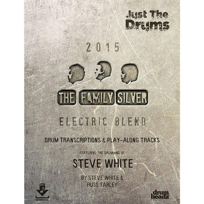 Steve White - The Family Silver Electric Blend Play Along Book