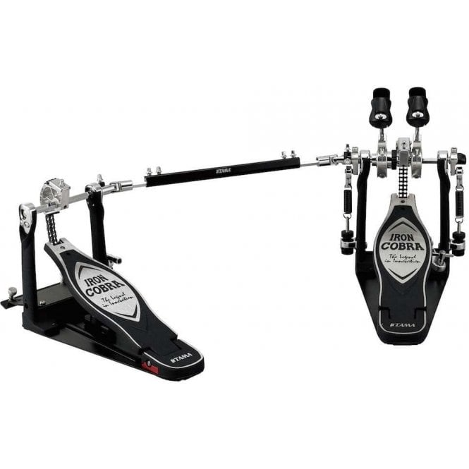 Tama Drums Tama HP900RWN Iron Cobra Power Glide Double Bass Drum Pedal With Case