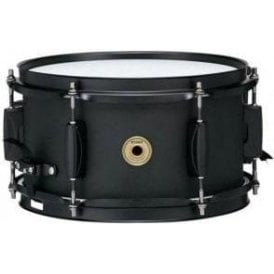 "Tama Metalworks 10"" x 5.5"" Black Steel Piccolo Snare Drum"