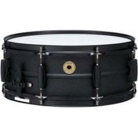 "Tama Metalworks 14"" x 5.5"" Black Steel Piccolo Snare Drum"
