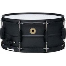 "Tama Metalworks 14"" x 6.5"" Black Steel Piccolo Snare Drum"