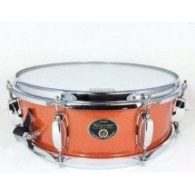 Tama Silverstar 14x5 Snare Drum Bright Orange Sparkle