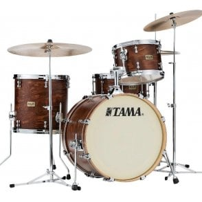 "Tama SLP 3 Drums ""Fat Spruce"" - Satin Wild Spruce Finish 