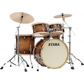 "Tama SLP 4 Drums ""Studio Maple"" - Gloss Sienna Finish 