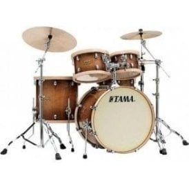 "Tama SLP Drum Kit 4 Drums ""Studio Maple"" - Gloss Sienna Finish"