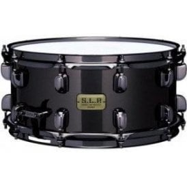 Tama SLP Snare Drum - Black Brass