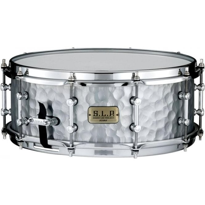 Tama SLP Snare Drum - Hammered Steel LST1455H | Buy at Footesmusic