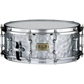 Tama SLP Snare Drum - Hammered Steel