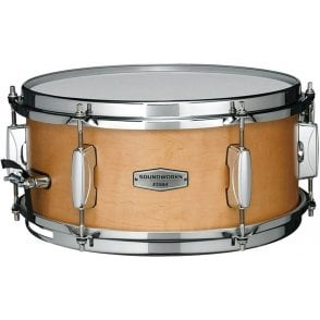 "Tama Soundworks 12"" x 5.5"" Maple Snare Drum - Matte Vintage Maple Finish DMP1255MVM 