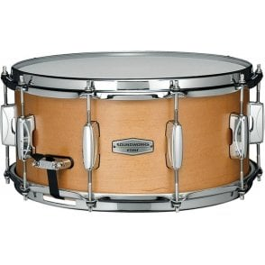 "Tama Soundworks 14"" x 6.5"" Maple Snare Drum - Matte Vintage Maple Finish"
