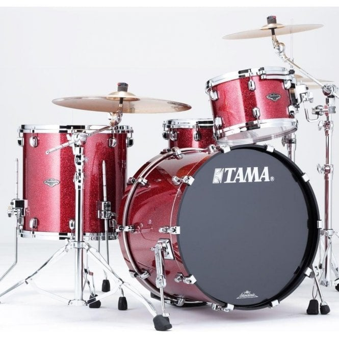 Tama Starclassic BB Performer Drum Kit - Coral Red Sparkle Lacquer Finish