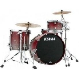 Tama Starclassic Walnut/Birch 3 Drums - Satin Burgundy Fade