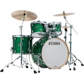 Tama Starclassic Walnut/Birch 4 Drums - Jade Silk