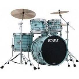 Tama Starclassic Walnut/Birch 4 Drums - Lacquer Arctic Blue Oyster