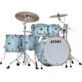 Tama Starclassic Walnut/Birch 5 Drums - Ice Blue Pearl