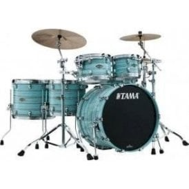 Tama Starclassic Walnut/Birch 5 Drums - Lacquer Arctic Blue Oyster