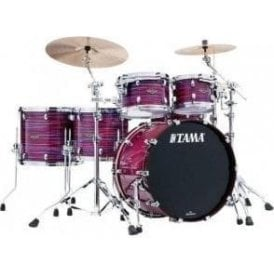 Tama Starclassic Walnut/Birch 5 Drums - Lacquer Phantasm Oyster
