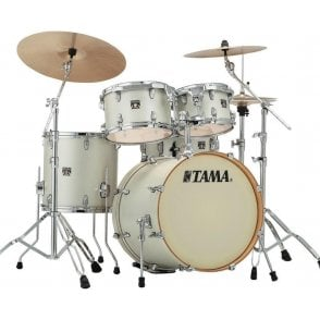 "Tama Superstar Classic 20"" 5 Drums - Satin Arctic Pearl"