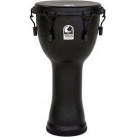 "Toca Freestyle Bolt Tuned 12"" Djembe - Black Mamba Finish"