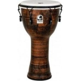 "Toca Freestyle II Bolt Tuned 10"" Djembe - Spun Copper Finish"