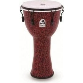 "Toca Freestyle II Bolt Tuned 14"" Djembe & Bag Red Mask TF2DM14RMB 