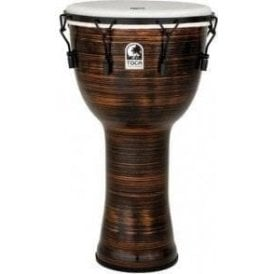 "Toca Freestyle II Bolt Tuned 14"" Djembe & Bag - Spun Copper Finish"