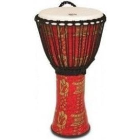 "Toca Freestyle II Rope Tuned 12"" Djembe - Tinker Finish"