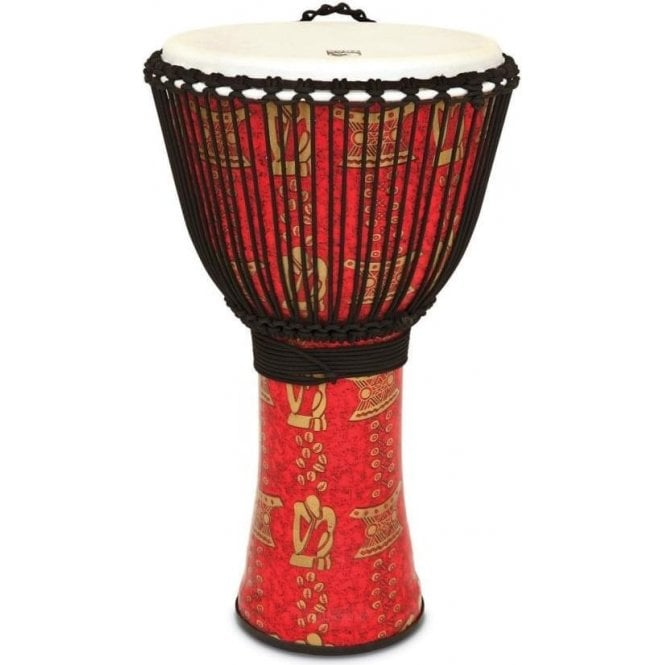"Toca Freestyle II Rope Tuned 14"" Djembe & Bag - Thinker Finish"