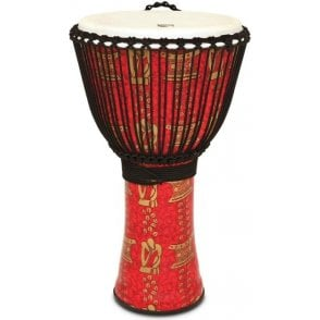 "Toca Freestyle II Rope Tuned 14"" Djembe & Bag - Tinker Finish"