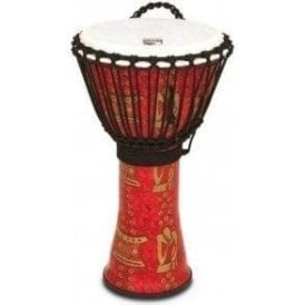 "Toca Freestyle II Rope Tuned 9"" Djembe - Thinker Finish"