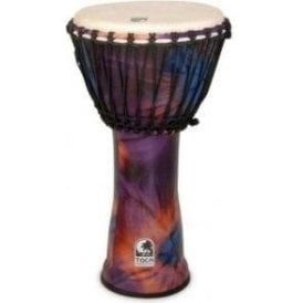 "Toca Freestyle Rope Tuned 10"" Djembe Woodstock Purple SFDJ10WP 
