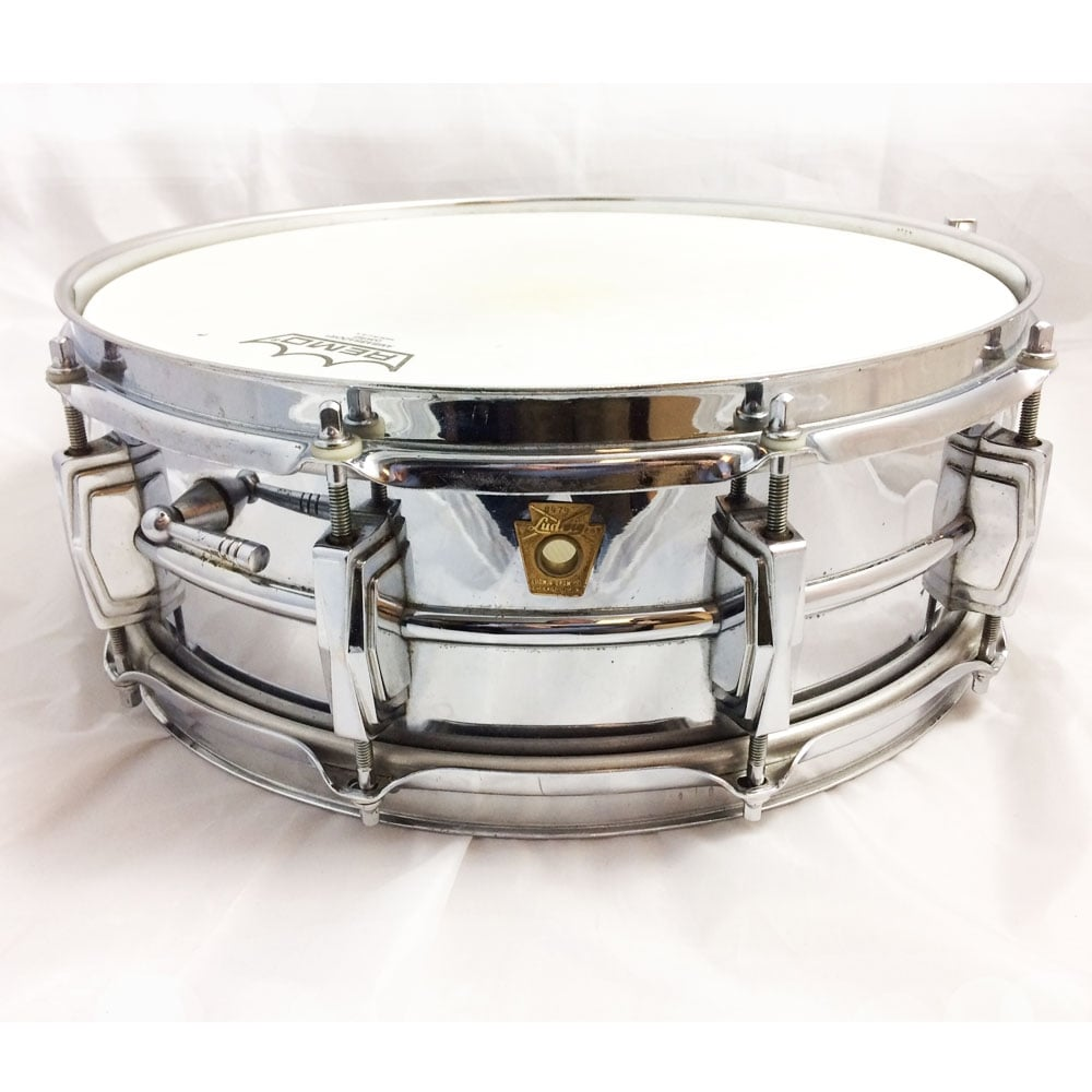 used ludwig 400 14x5 supraphonic snare drum at uk stockist footesmusic. Black Bedroom Furniture Sets. Home Design Ideas