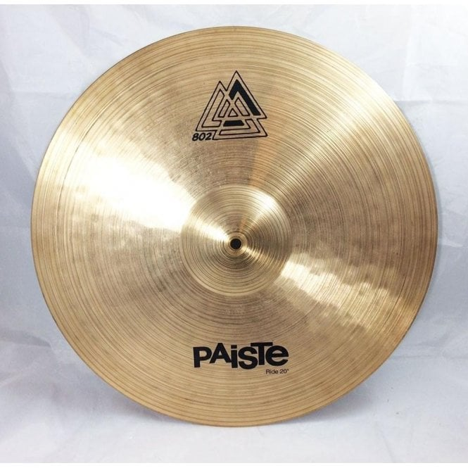 used paiste 20 802 ride cymbal at footesmusic. Black Bedroom Furniture Sets. Home Design Ideas