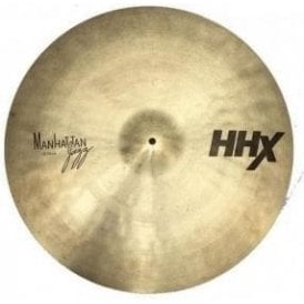 "Used Sabian 22"" HHX Manhattan Ride Cymbal"