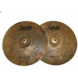 "Used Soultone 14"" Natural Hi Hats Cymbals (pair)"