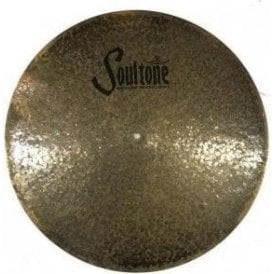 "Used Soultone Natural 21"" Flat Ride Cymbal"