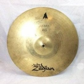 "Used Zildjian 16"" A Custom Crash Cymbal"