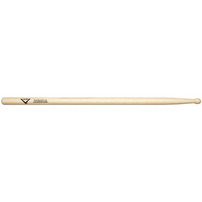 Vater Hickory 3A Wood Tip Drum Sticks (pair)