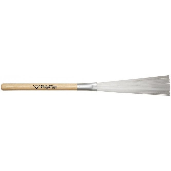 Vater Polyflex Brushes with Wood Handle - Nylon Brushes (pair)