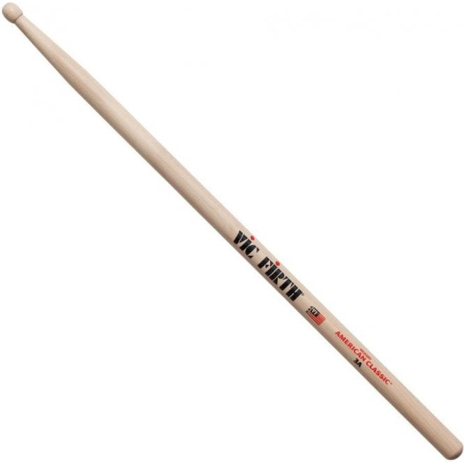 Vic Firth Hickory 3A Wood Tip Drum Sticks (pair)