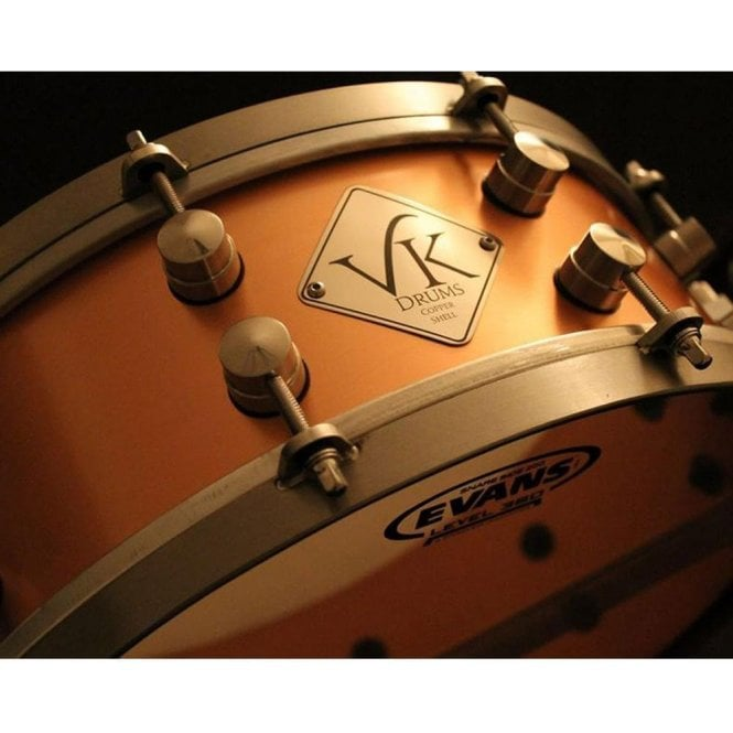 VK 14x5.5 Copper Shell Snare Drum
