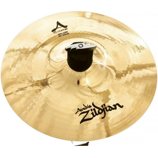 "Zildjian A Custom 10"" Splash Cymbal"